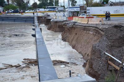 En dos semanas a más tardar se realizará el cimbrado para hacer el vaciado de concreto