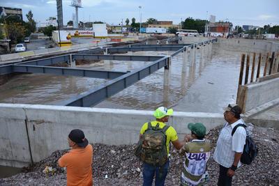 Gotés explicó que de acuerdo con el constructor, serán dos o tres días que no se podrá trabajar en ese frente.