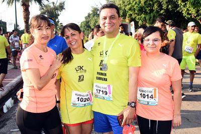 12102017 Lety, Blanca, Alejandro y Magaly.