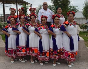13102017 Grupo norteño de los jubilados de la D-IV-7 de Tlahualilo, Durango, bajo la dirección del Profesor Ismael Sosa del Río.