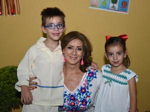 Diego, Silvia y Jimena