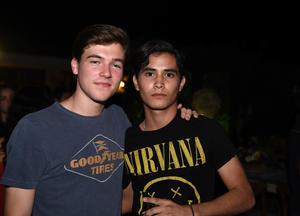 Miguel y Leonardo
