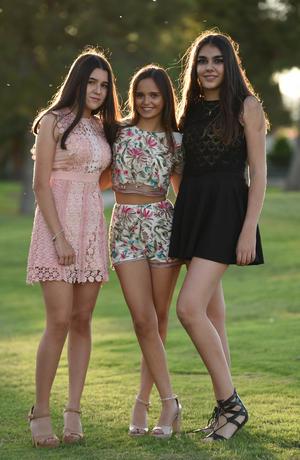 Ángela, Maika y Adriana