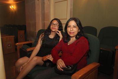 Tere Martínez y Yarely Rodríguez.