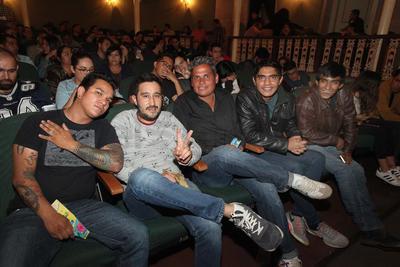 Sergio, Juan Carlos, Luis y Sergio Erick.