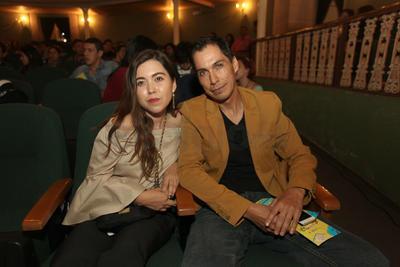 Valeria Moreno y Mario Moreno.