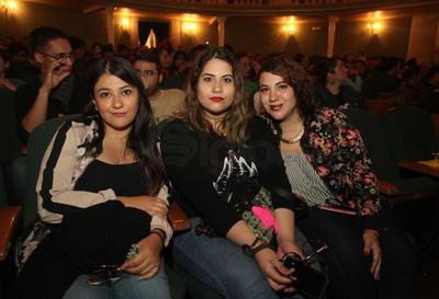 Mariana, Verónica y Alma.