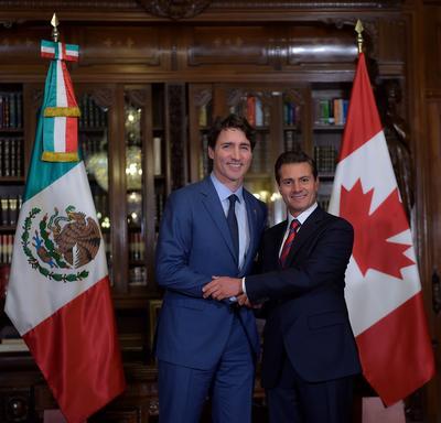 Trudeau defendió en México que el TLCAN llevó al progreso y pidió mejoras para ambas naciones.