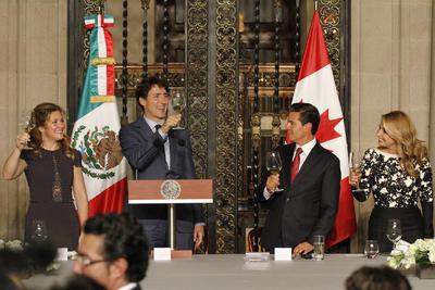 La Primera Dama, Sophie Gregoire, confió que esta importante visita reforzará la amistad entre México y Canadá.