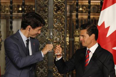 Alegres por los acuerdos que se lograron pactar para México y Canadá.
