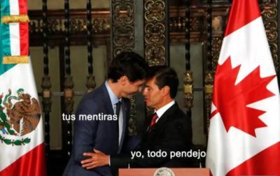 Visita de Trudeau a México llena de memes las redes sociales