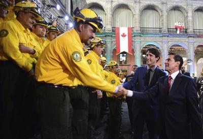 El Primer Ministro de Canadá afirmó que se encuentra feliz con la colaboración entre ambos países.