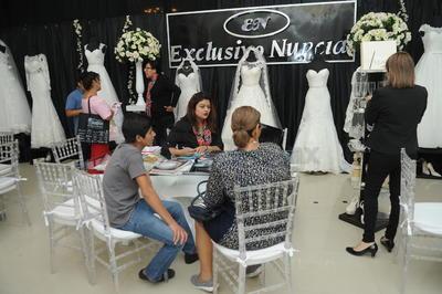 Los asistentes pudieron encontrar todo lo que habían soñado para su enlace matrimonial.