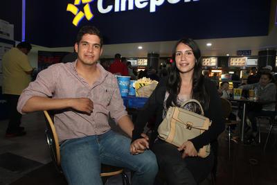 Juan Carlos y Dania.