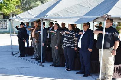 A la ceremonia, asistieron los alcaldes de Viesca, de San Pedro, y representantes de Francisco I Madero, así como de Torreón.