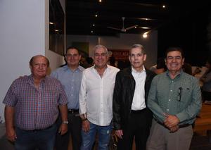 15102017 Guillermo, Carlos, Guillermo, Rafael y Beto.