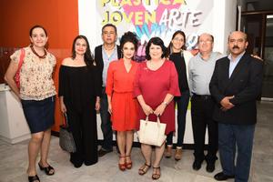 15102017 EN RECIENTE EVENTO.  Patricia, Olivia, Guayo, Sabrina, Gretel, Gaby, Juan Noé y Arturo.