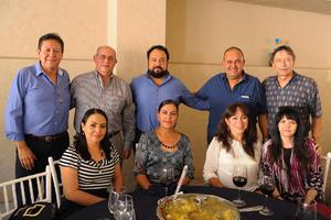 23102017 Jorge, Eugenio, Marco Antonio, Jorge Mario, Antonio, Mayela, Rosy, Alma y Gabriela.