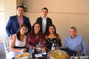 23102017 Héctor, Nahim, Ivette, Mariana, Mireya y Dr. Milán.