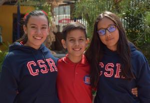 24102017 Katie, Sebastián y Gabriela.