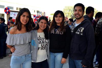 26102017 Eunice Martínez, Nallely Elizalde, Diana Estrada y Miguel García.