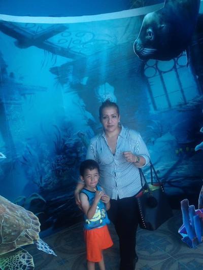 26102017 Alejandra y su hijo Francisco.
