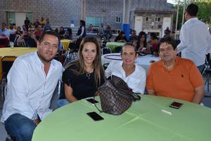 26102017 Pablo, Ana Paula, Marcela y Alejandro.