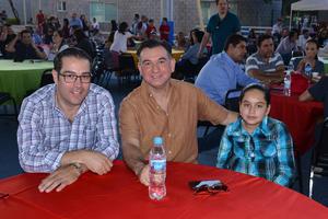 26102017 Andrés, Mauricio y Pilar.
