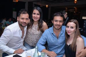 27102017 Carlos, Zaira, Gustavo y Gaby.