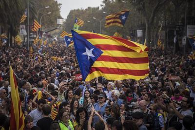 La declaración se da con el rechazo del Gobierno español.