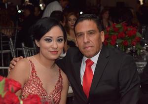 Esmeralda y Sergio.