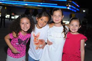 Mariana, Fernanda, Camila y Maria Emilia.