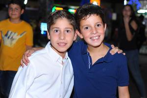 Mikel y Berny.