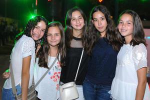 Tamara, Sofia, Paulina, Paulina y Anafer.