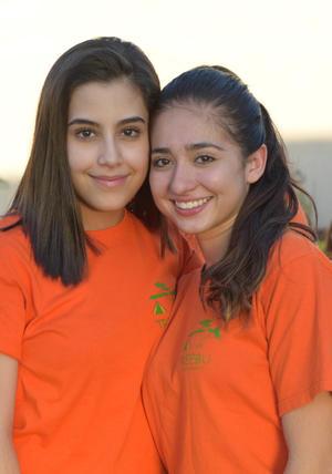 Natalia y Ana Sofía.