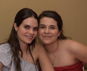 Alejandra y Giovanna.
