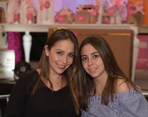 Claudia y Ana Sofía.