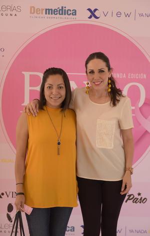 Cynthia Lozano y Ale Domínguez.