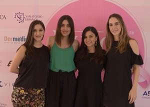 Isabela, Sofía, Ivonne y Cecy.