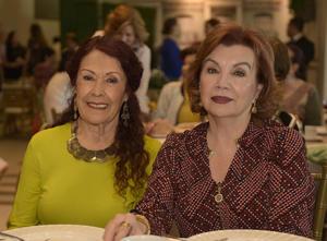 Cristina y Blanquita.