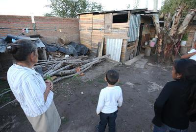 Esta zona de la ciudad, además de estar entre las de mayor riesgo, está clasificada entre las más pobres de la capital.