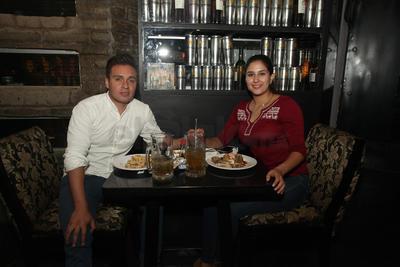Carlos Pérez y Valeria Rodríguez.
