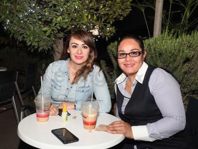 Mabi Santillán y Gaby Sánchez.
