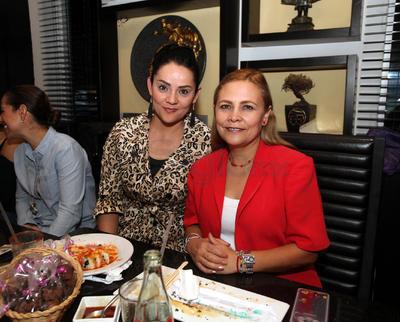 Jovita López y Sandra Rodríguez.