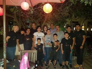 29102017 FELIZ CUMPLEAñOS.  Araceli Yusuki Gómez celebró un año más de vida rodeada de amigos y familiares.