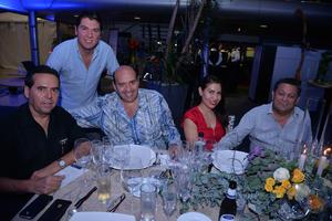 29102017 EN CELEBRACIóN.  Miguel, Martha, Ángel, Rosy y Santi.