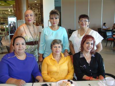 02112017 Rosalinda, Irma, Alejandra, Nora, Idalia y Elvira.