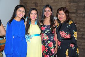 03112017 BABY SHOWER.  Karla Berumen de García, Katia, Patricia y Danya.