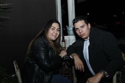 Paty y Cristian.