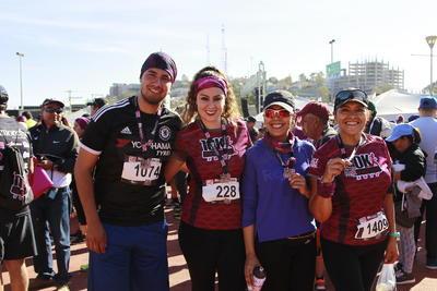 Convivencia familiar y deportiva en carrera Monchys